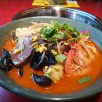 新規オープンの譚鴨血 池袋西口店で海鮮マーラータンを賞味
