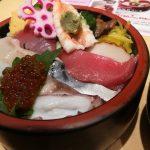 池袋西口「すし椿」で海鮮丼ランチを賞味