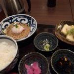 魚盛の鯛胡麻茶漬けが旨い!!
